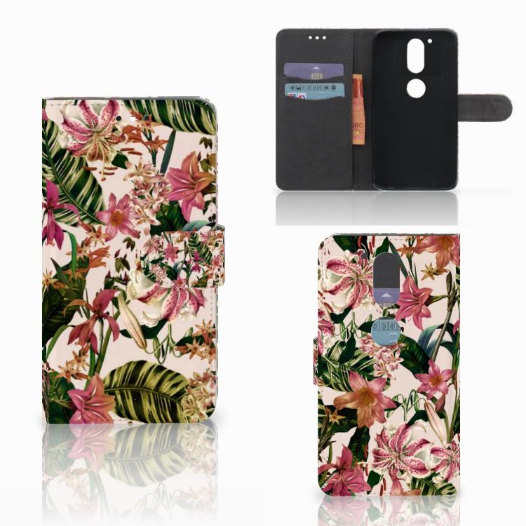 Motorola Moto G4 | G4 Plus Hoesje Flowers