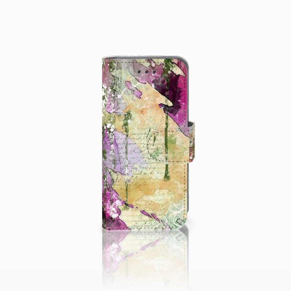 Apple iPod Touch 5   6 Uniek Boekhoesje Letter Painting