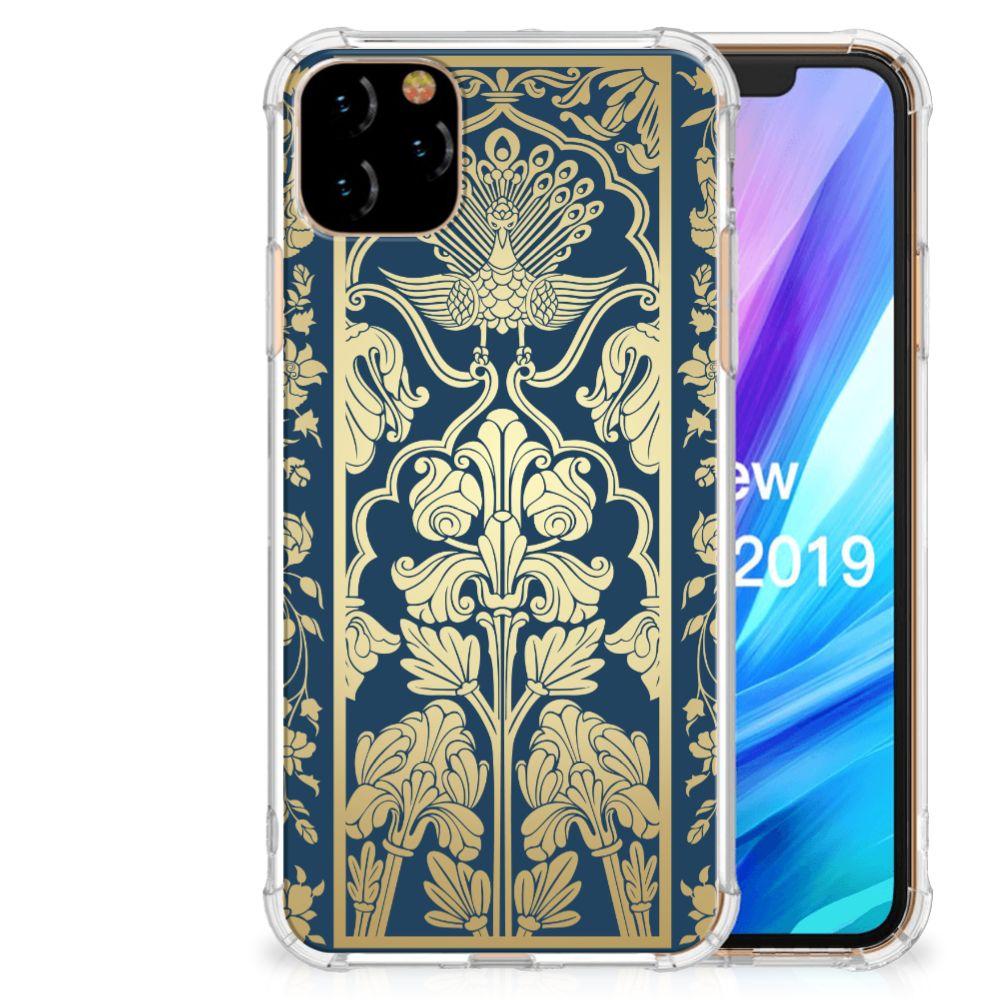 Apple iPhone 11 Pro Max Case Golden Flowers