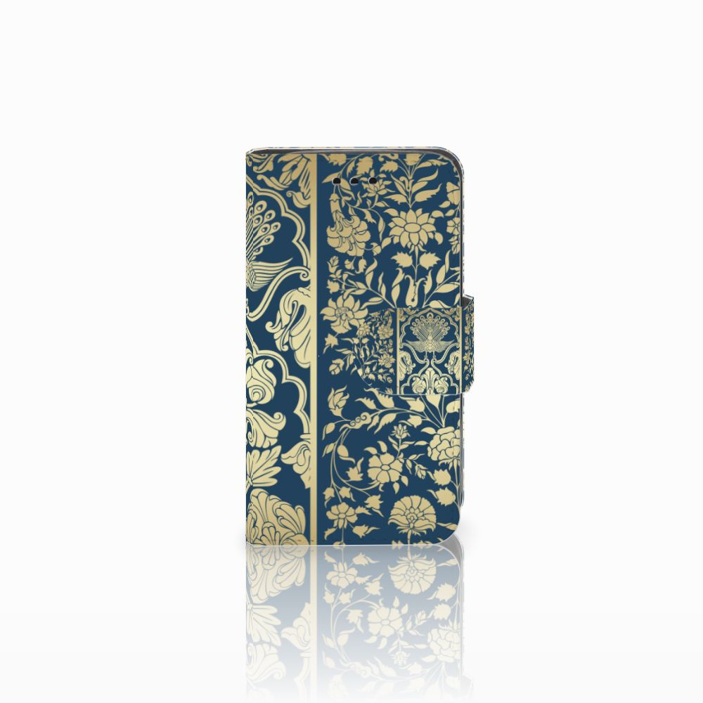 Samsung Galaxy Trend 2 Boekhoesje Golden Flowers