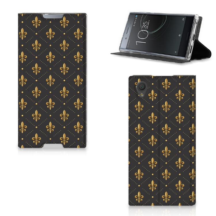 Sony Xperia L1 Hoesje met Magneet Franse Lelie
