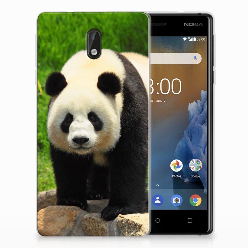 Nokia 3 TPU Hoesje Design Panda