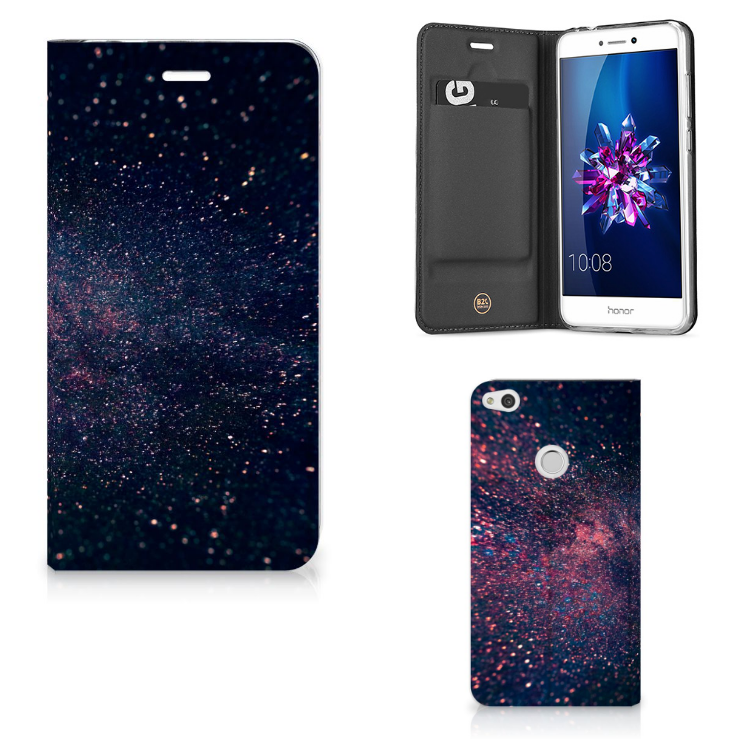 Huawei P8 Lite 2017 Stand Case Stars