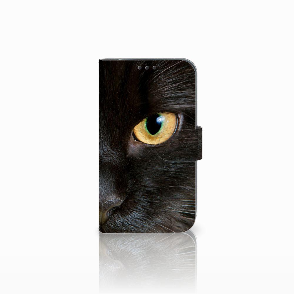 Samsung Galaxy Xcover 4 Uniek Boekhoesje Zwarte Kat