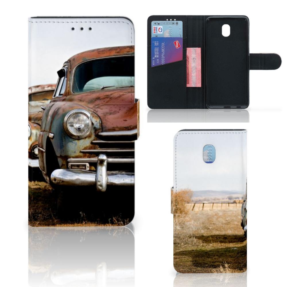 Samsung Galaxy J5 2017 Telefoonhoesje met foto Vintage Auto