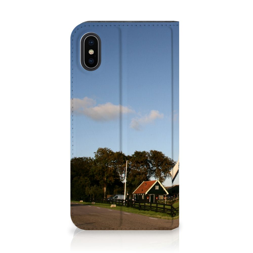 Apple iPhone X | Xs Uniek Standcase Hoesje Molen