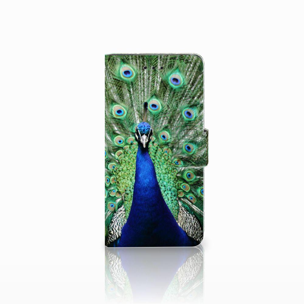 Huawei Y5 2018 Telefoonhoesje met Pasjes Pauw