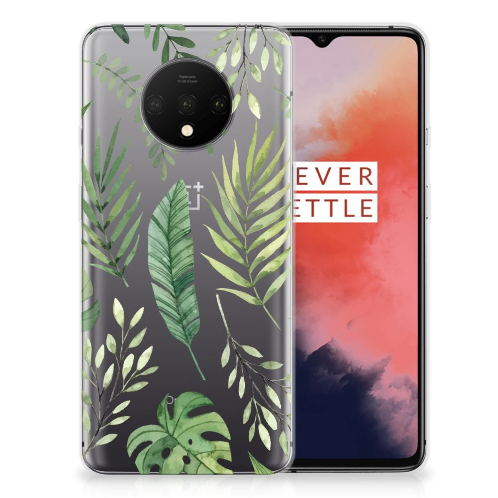 OnePlus 7T TPU Case Leaves