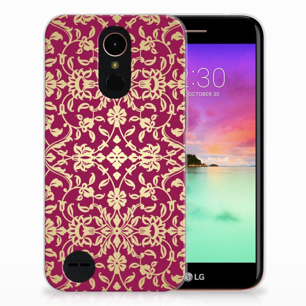 Siliconen Hoesje LG K10 2017 Barok Pink