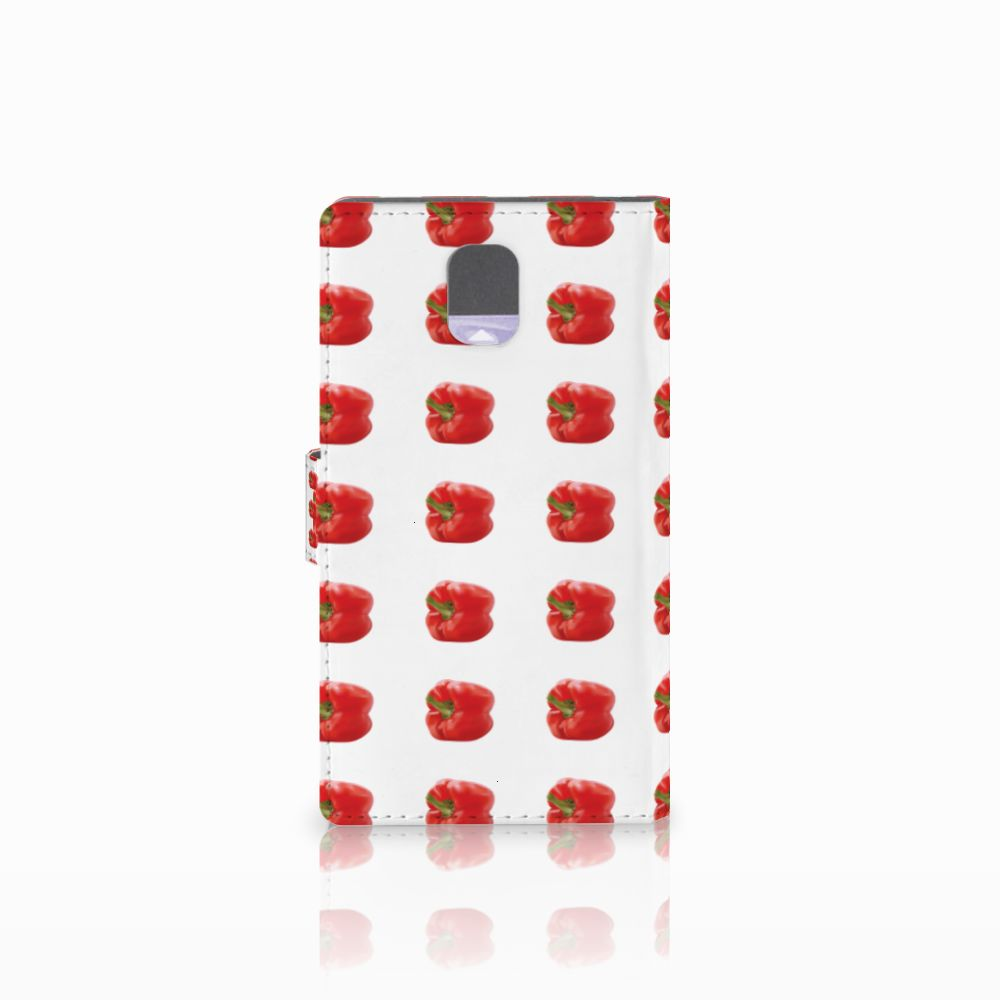 Samsung Galaxy Note 3 Book Cover Paprika Red