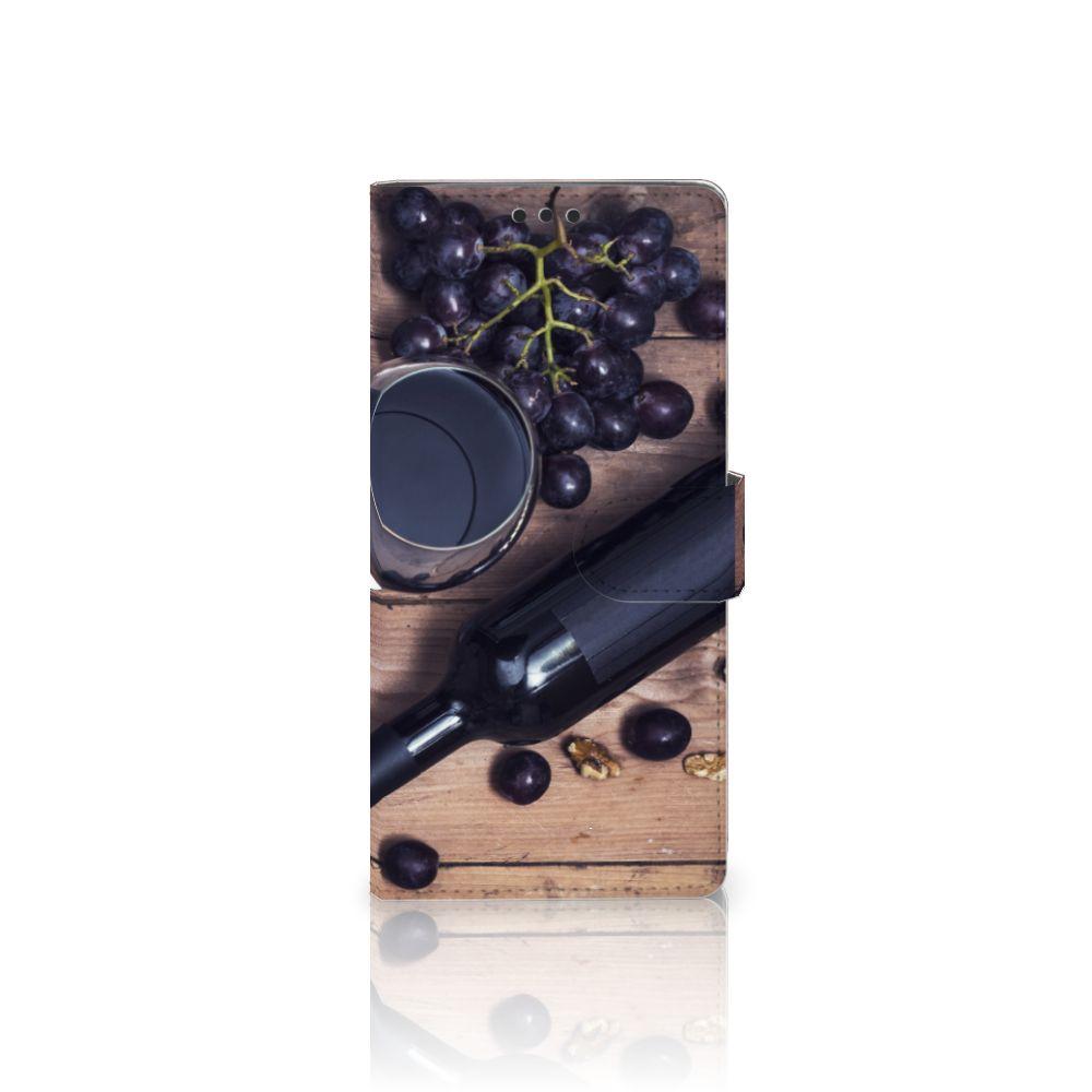 Sony Xperia XA Ultra Uniek Boekhoesje Wijn