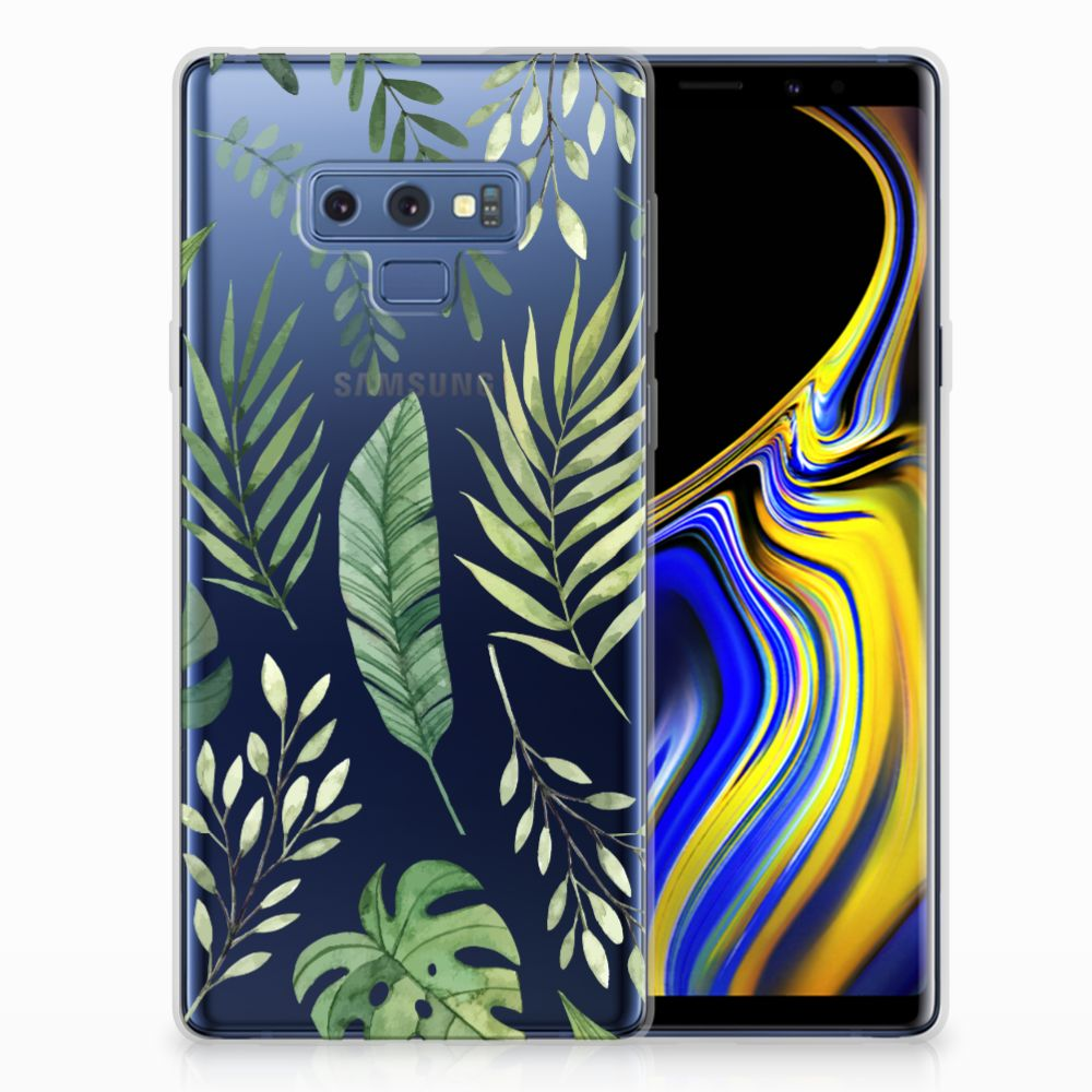 Samsung Galaxy Note 9 TPU Case Leaves