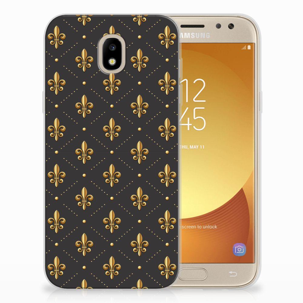 Samsung Galaxy J5 2017 Uniek TPU Hoesje Franse Lelie