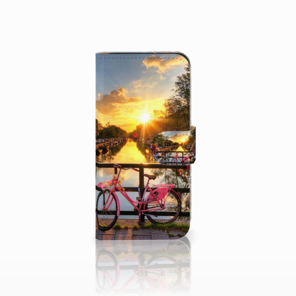 HTC One Mini 2 Uniek Boekhoesje Amsterdamse Grachten