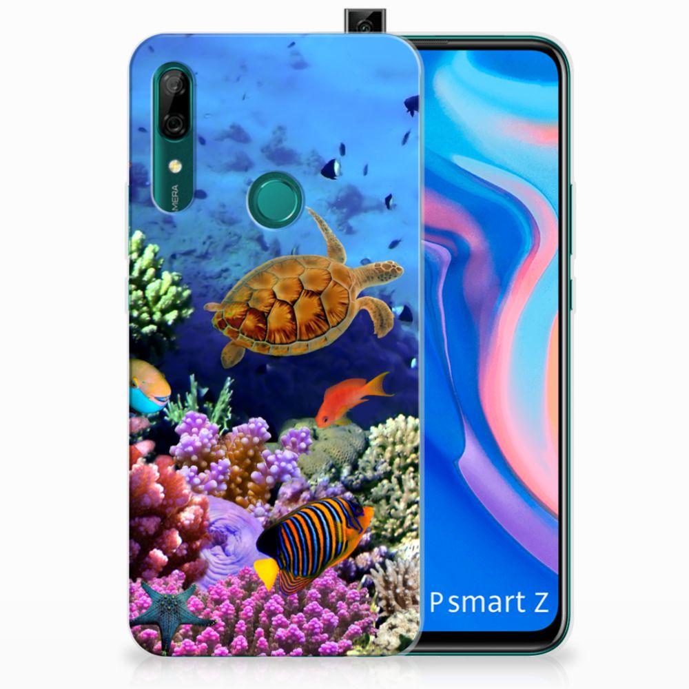 Huawei P Smart Z TPU Hoesje Vissen