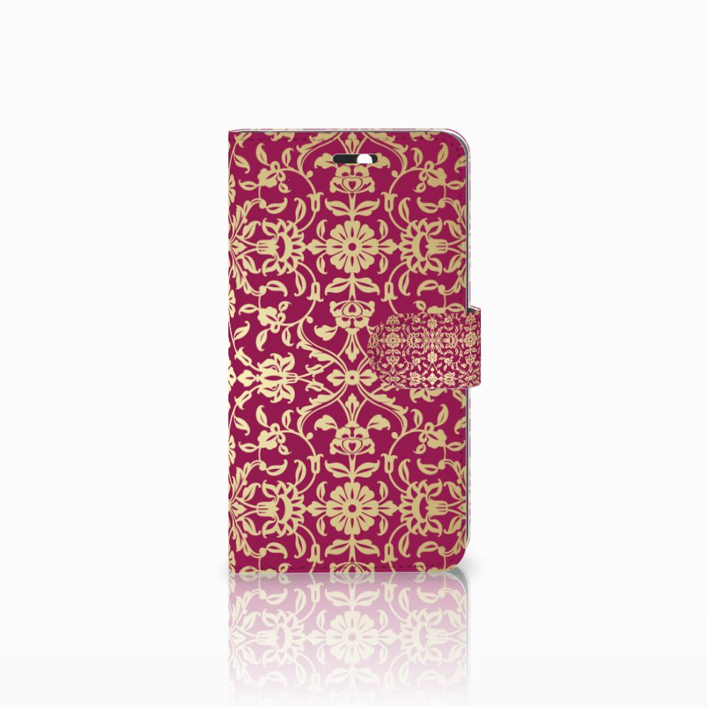 Huawei Y6 II   Honor 5A Boekhoesje Design Barok Pink