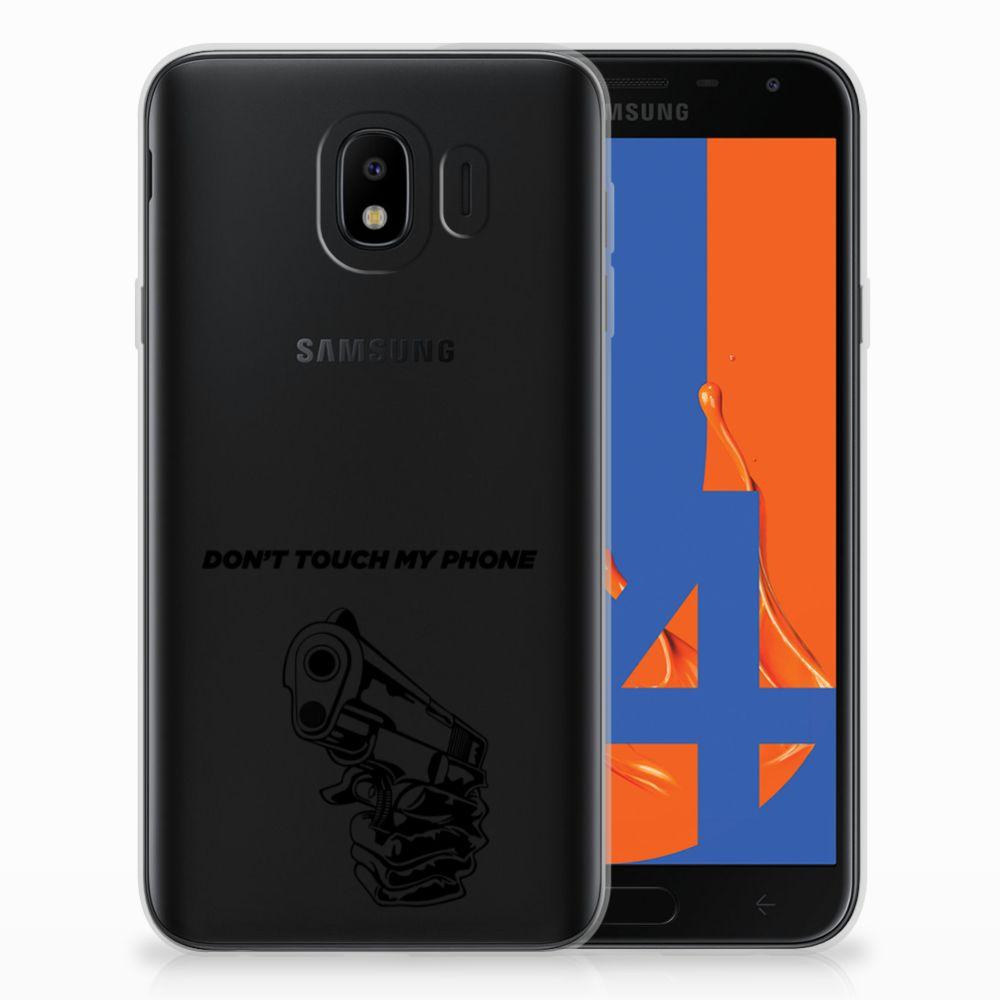Samsung Galaxy J4 2018 Uniek TPU Hoesje Gun DTMP