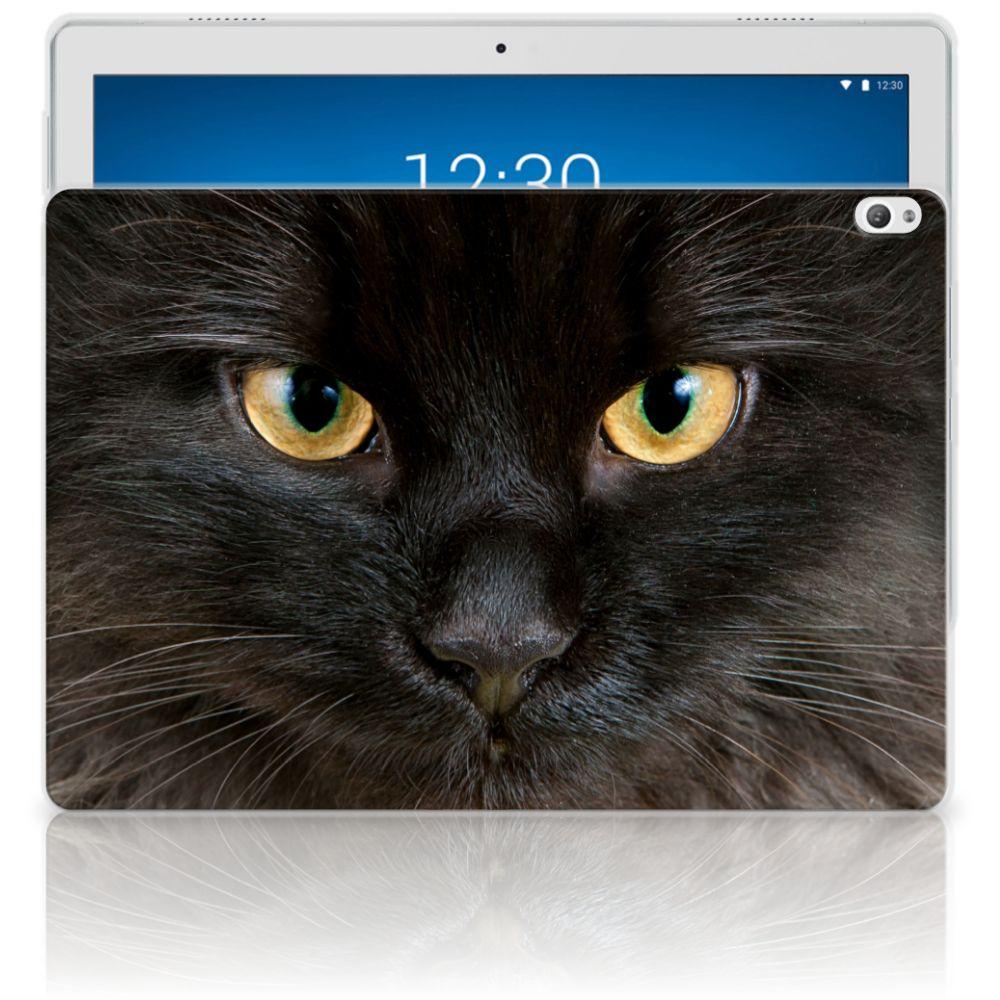 Lenovo Tab P10 Back Case Zwarte Kat