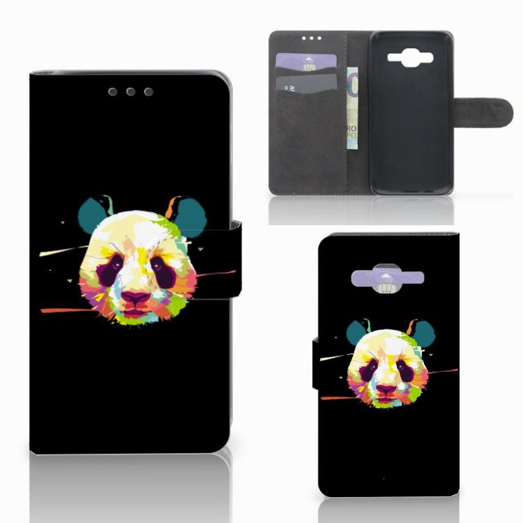 Samsung Galaxy J5 (2015) Leuk Hoesje Panda Color