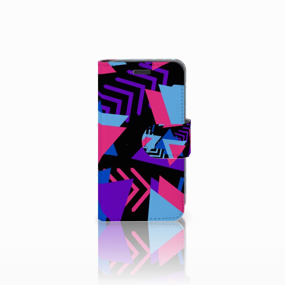 Nokia Lumia 520 Bookcase Funky Triangle
