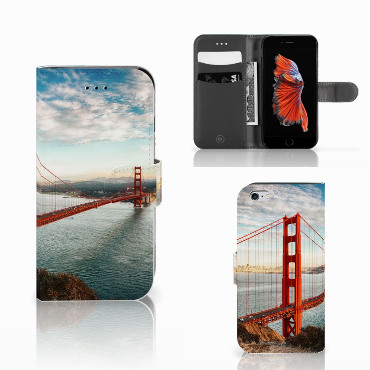 Apple iPhone 6 | 6s Flip Cover Golden Gate Bridge