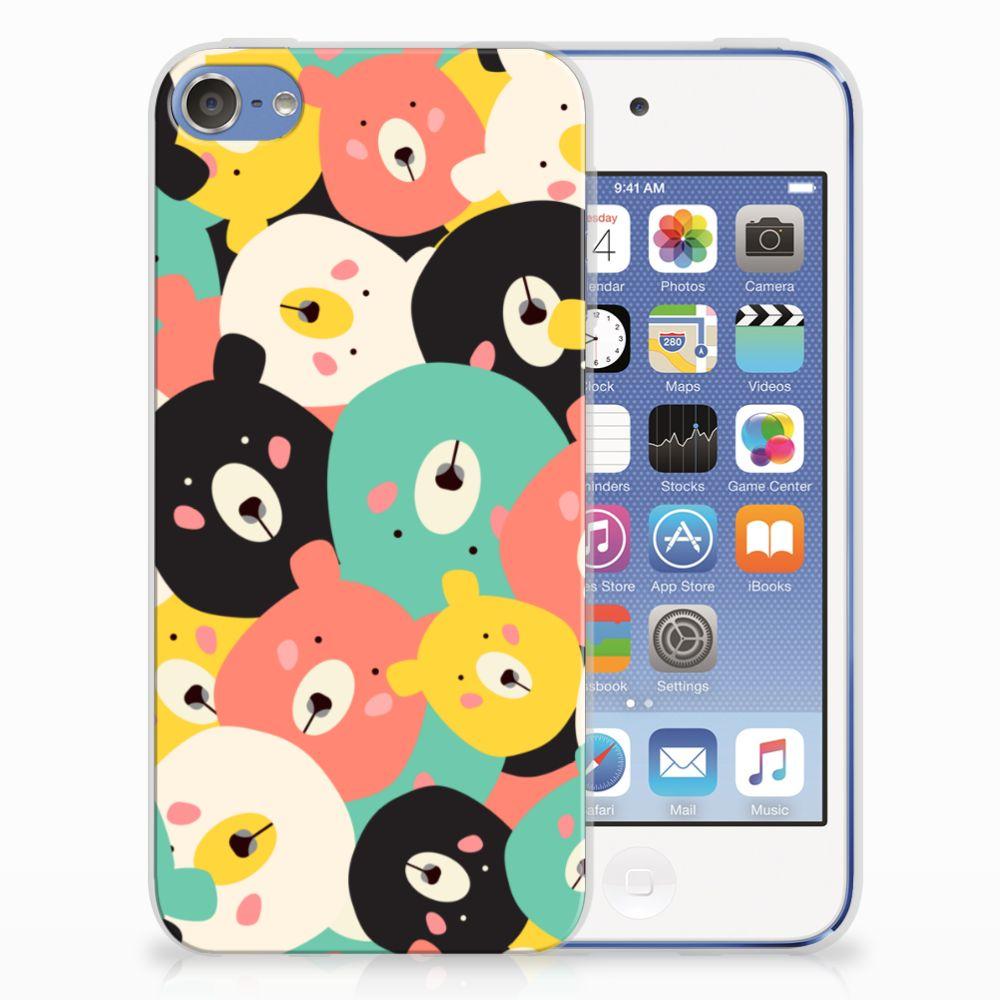 Apple iPod Touch 5   6 Uniek TPU Hoesje Bears