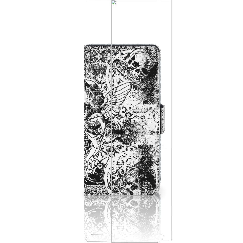 Huawei Ascend P8 Lite Boekhoesje Design Skulls Angel