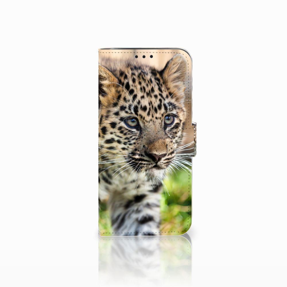 Xiaomi Pocophone F1 Uniek Boekhoesje Baby Luipaard