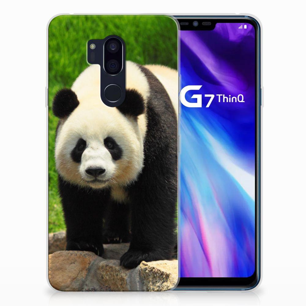 LG G7 Thinq TPU Hoesje Panda