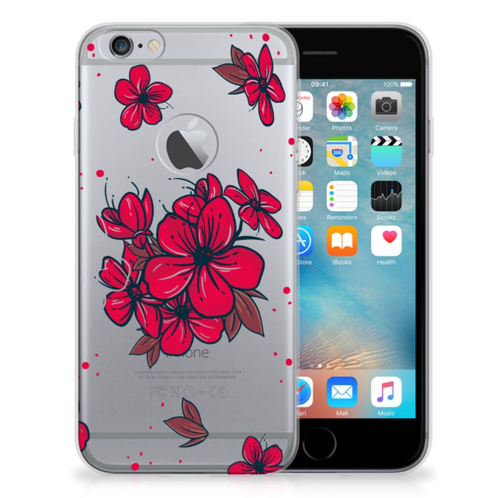 Apple iPhone 6 Plus | 6s Plus TPU Case Blossom Red