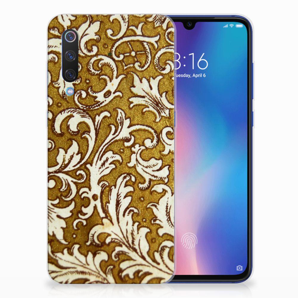 Siliconen Hoesje Xiaomi Mi 9 Barok Goud