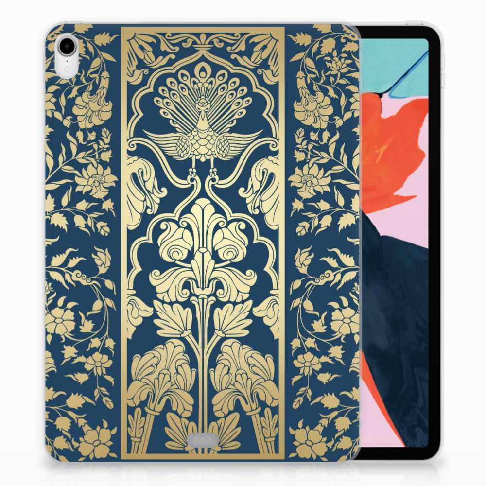 Apple iPad Pro 11 inch (2018) TPU Hoesje Golden Flowers