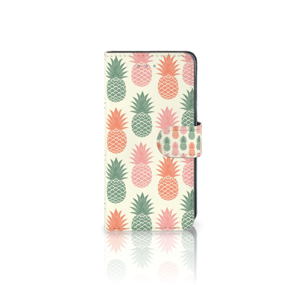 Samsung Galaxy J3 2016 Boekhoesje Design Ananas