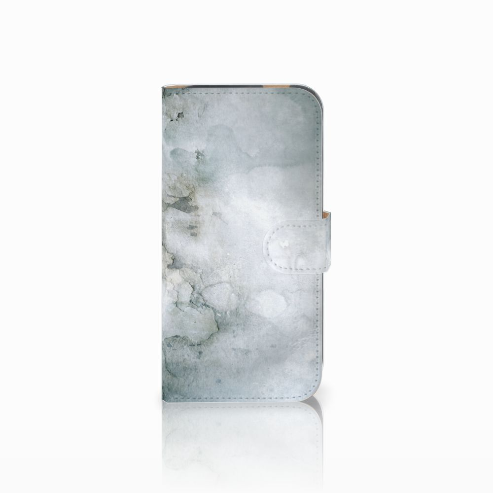 Hoesje HTC One M8 Painting Grey