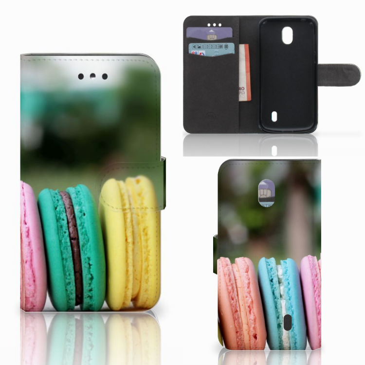 Nokia 1 Book Cover Macarons