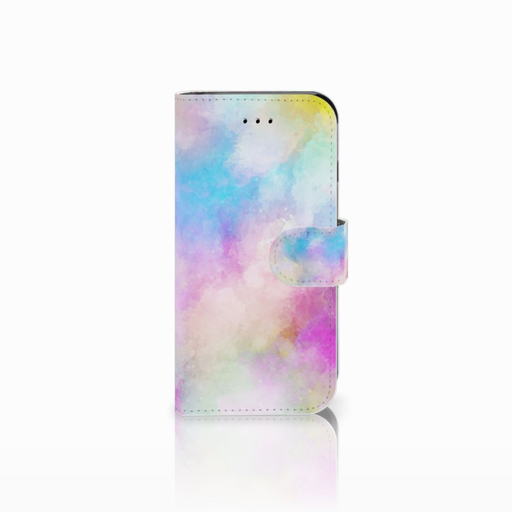 Apple iPhone 6 | 6s Uniek Boekhoesje Watercolor Light