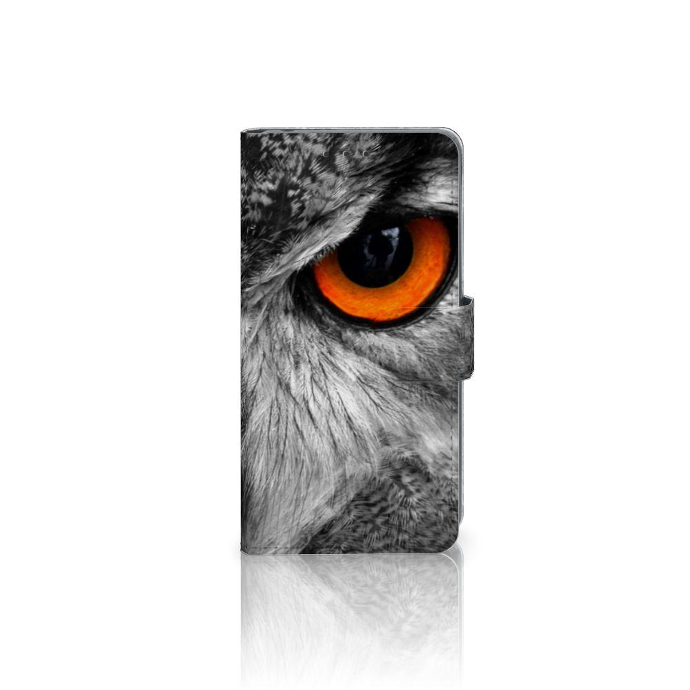 Sony Xperia Z2 Telefoonhoesje met Pasjes Uil