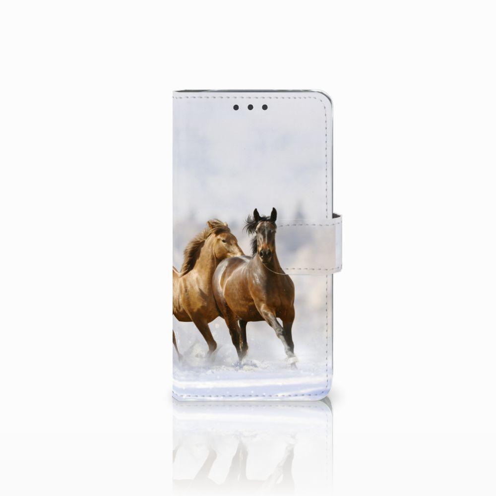 LG G5 Uniek Boekhoesje Paarden