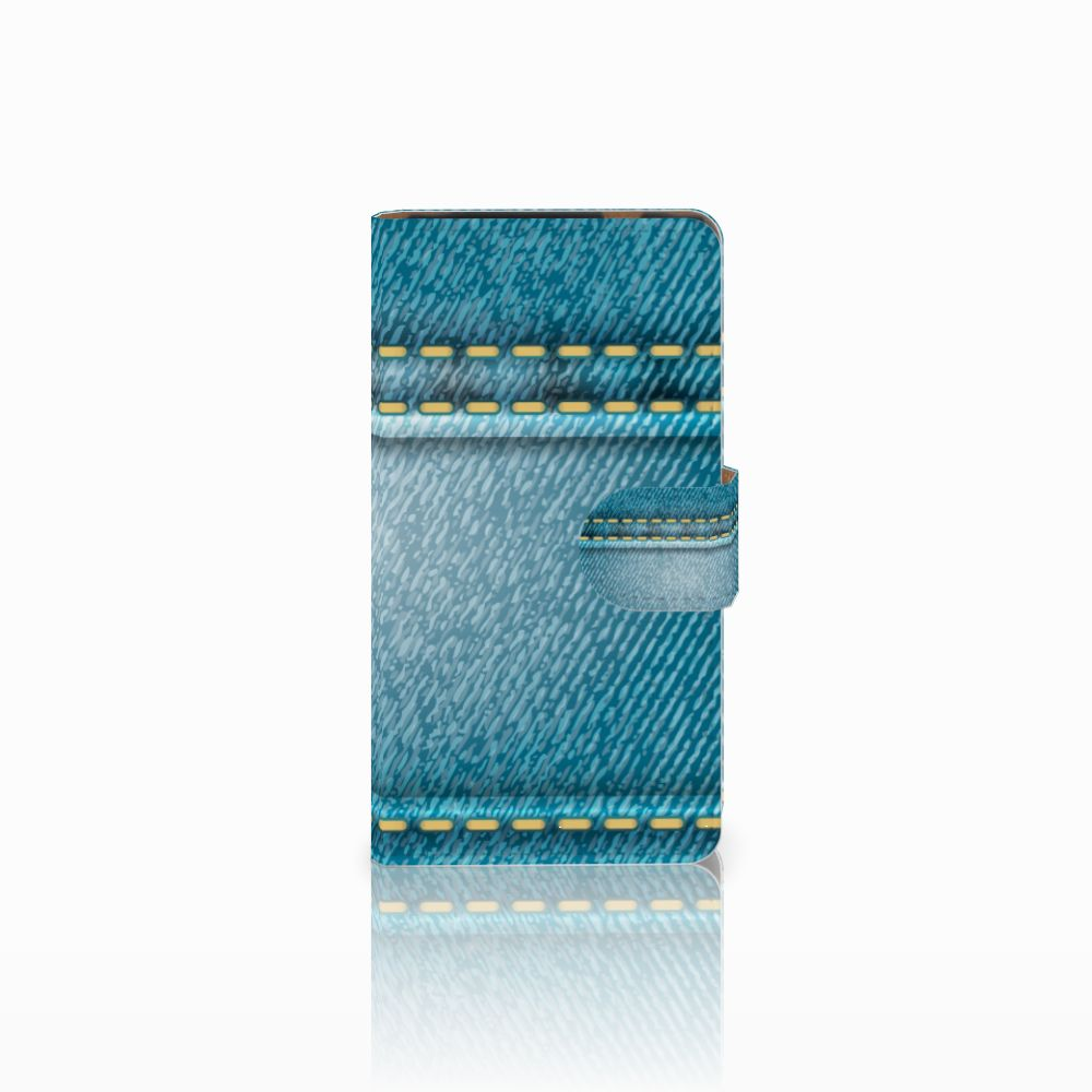 HTC Desire 601 Boekhoesje Design Jeans