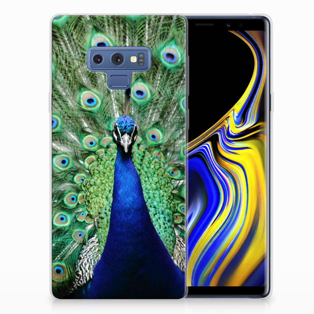 Samsung Galaxy Note 9 TPU Hoesje Pauw
