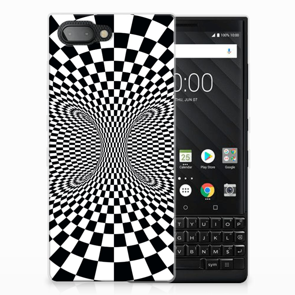 BlackBerry Key2 TPU Hoesje Illusie