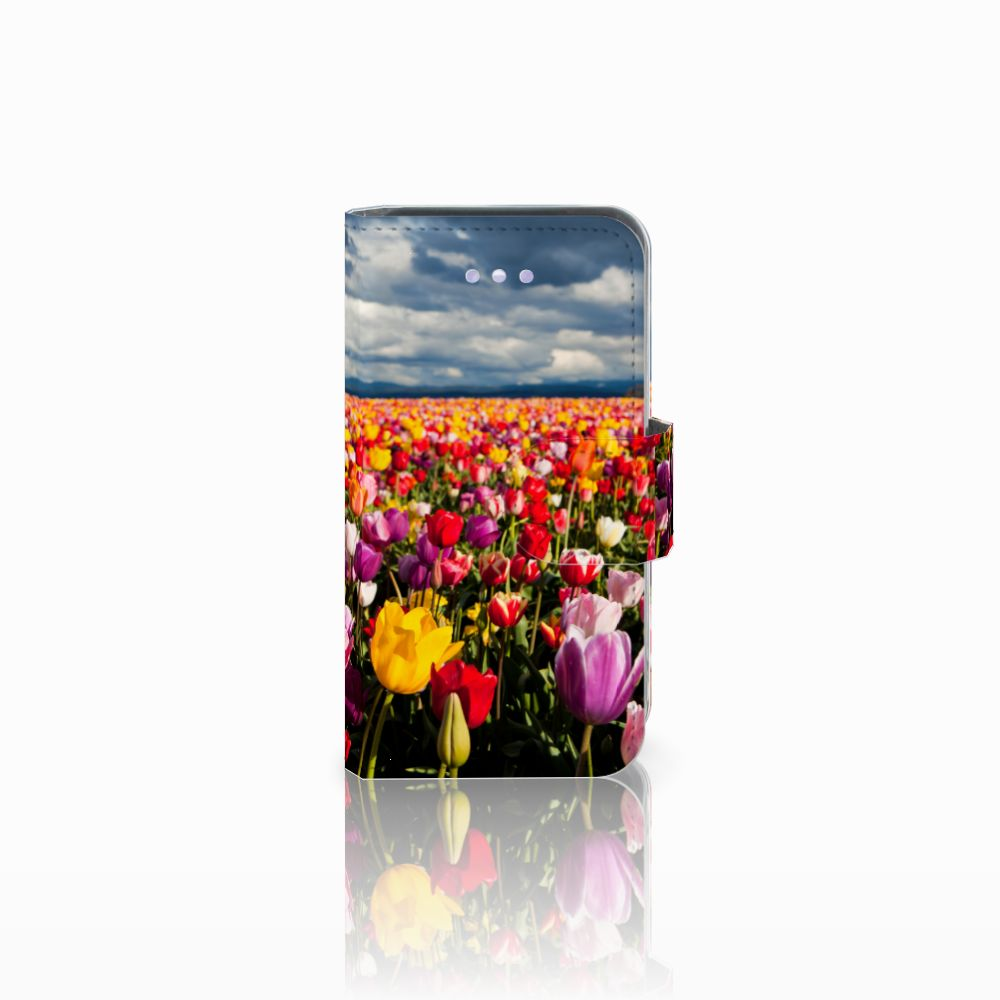 Apple iPhone 4 | 4S Uniek Boekhoesje Tulpen