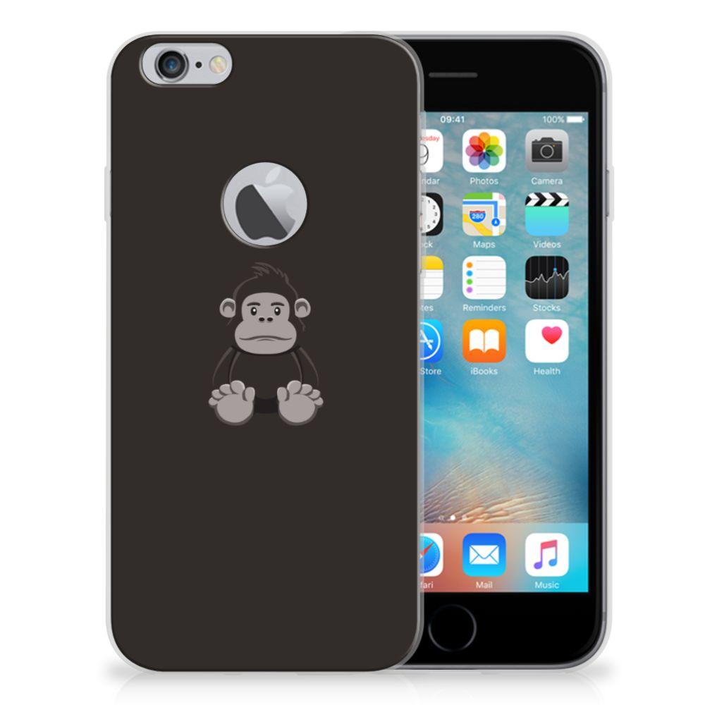 Apple iPhone 6 Plus | 6s Plus Telefoonhoesje met Naam Gorilla