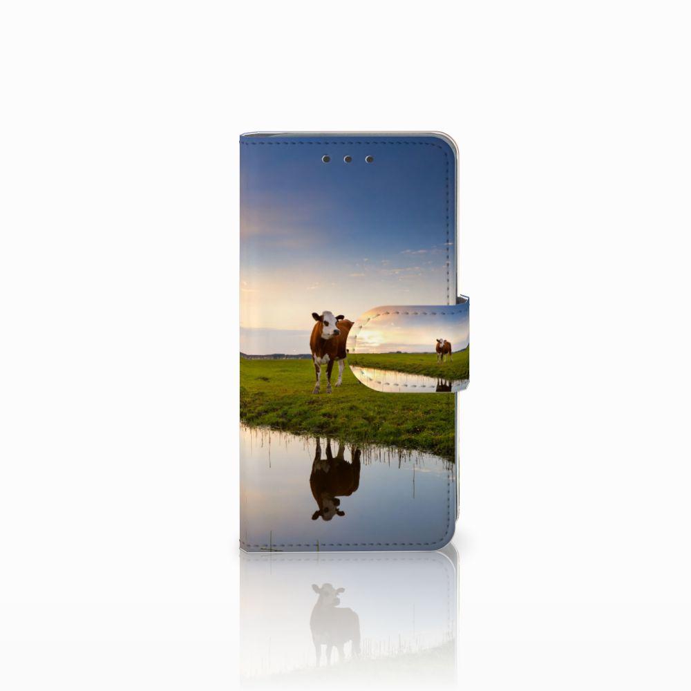 Samsung Galaxy A3 2015 Boekhoesje Design Koe