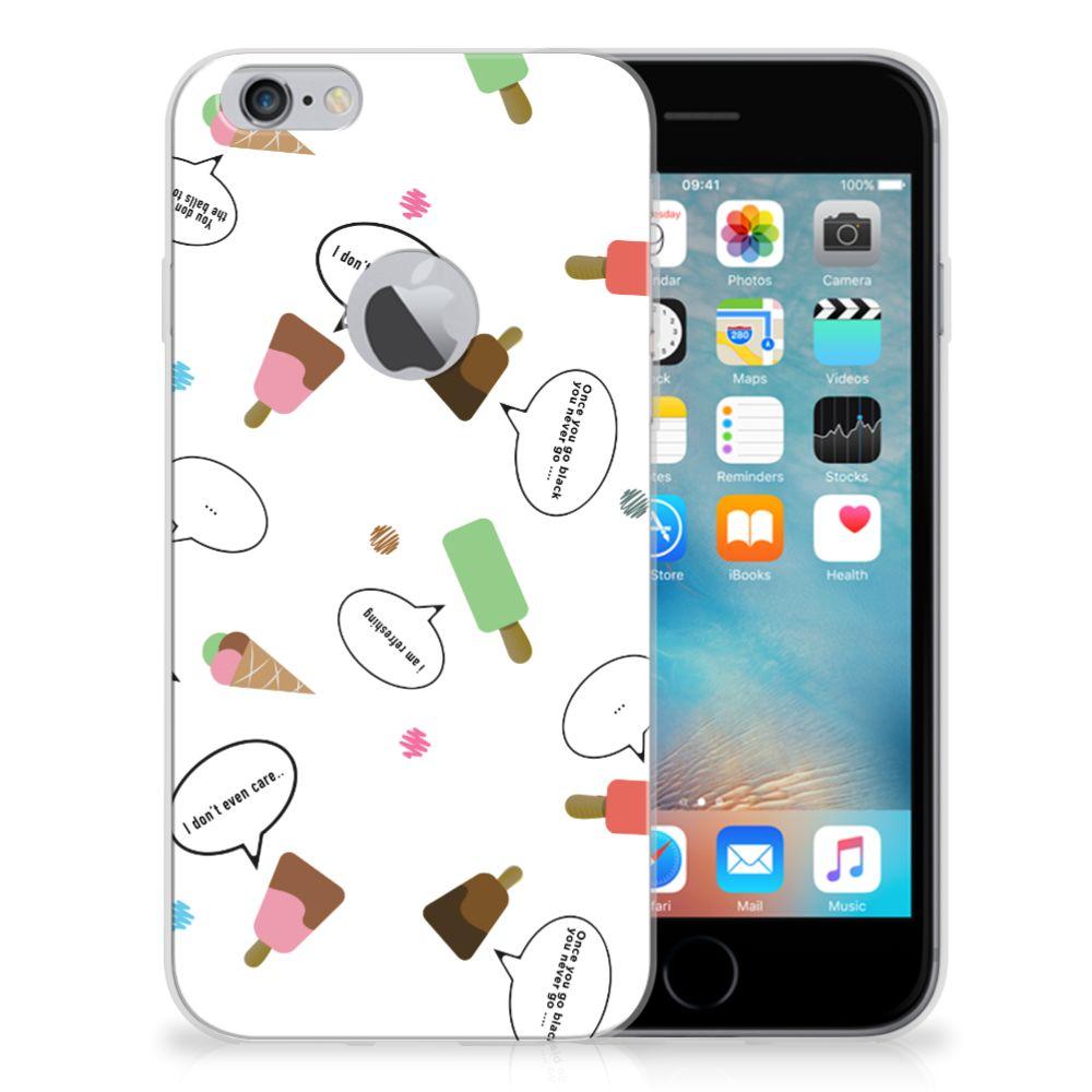 Apple iPhone 6 Plus   6s Plus Siliconen Case IJsjes