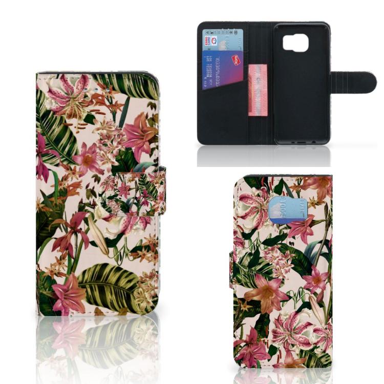 Samsung Galaxy S6 | S6 Duos Hoesje Flowers