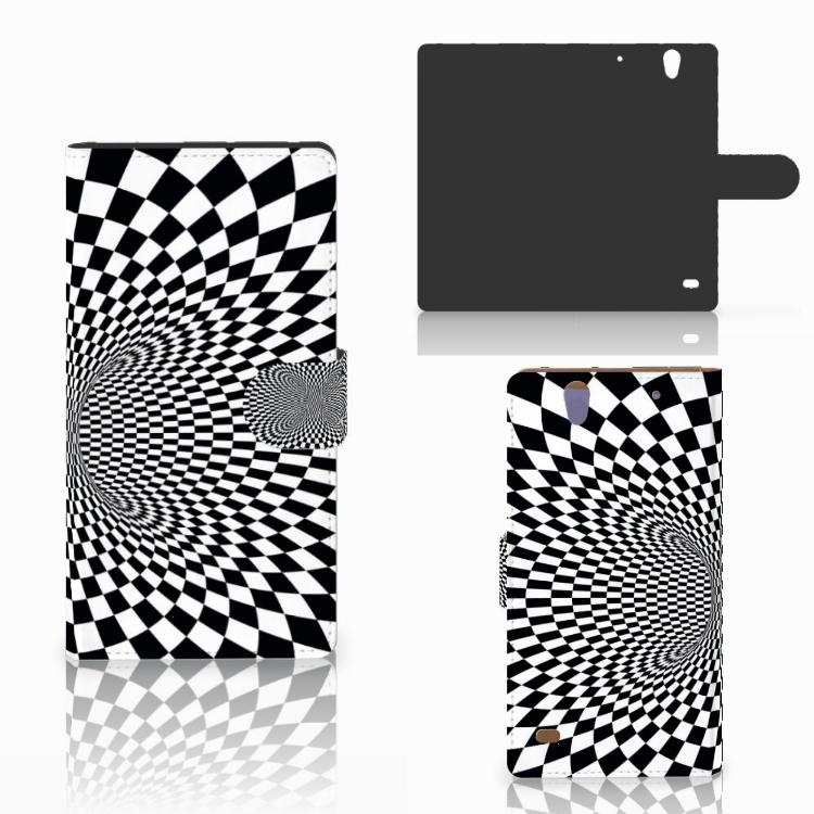 Sony Xperia C4 Bookcase Illusie