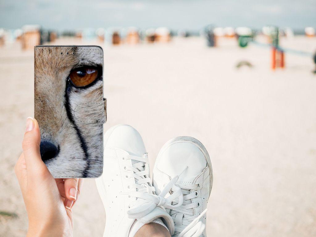 Sony Xperia Z3 Telefoonhoesje met Pasjes Cheetah