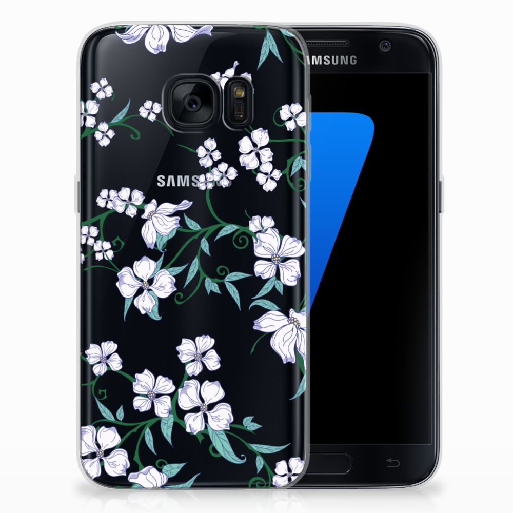 Samsung Galaxy S7 Uniek TPU Case Blossom White