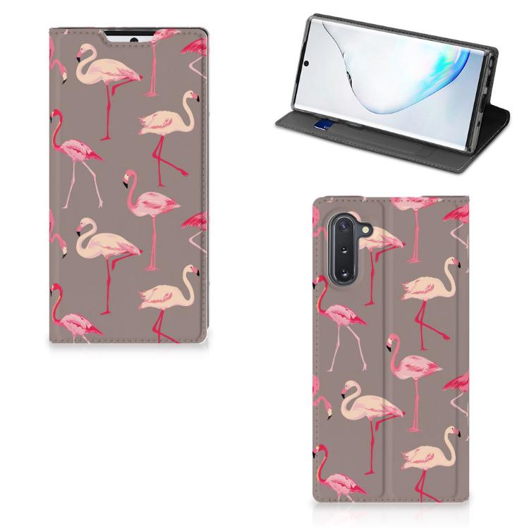 Samsung Galaxy Note 10 Hoesje maken Flamingo